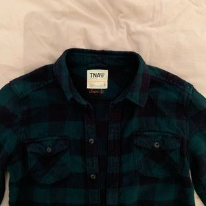 TNA Classic Fit Flannel Button Up